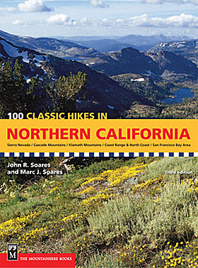 100 Classic Hikes in Northern California book cover